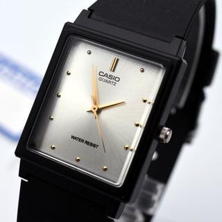 カシオ(CASIO)のカシオ CASIO チプカシ 腕時計 メンズ チープカシオ シルバー ブラック(腕時計(アナログ))