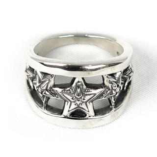 クロムハーツ(Chrome Hearts)の【cody sanderson】5 Star in Star Cut Out(リング(指輪))