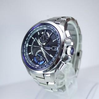 カシオ(CASIO)のカシオ オシアナス OCW-T1000 電波ソーラー(腕時計(アナログ))