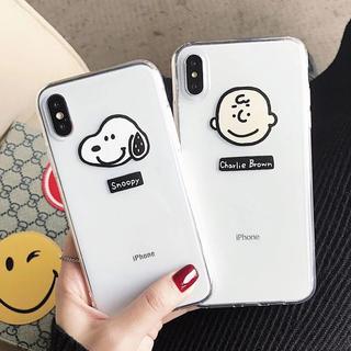 スヌーピー  スマホケース iphone7/8用
