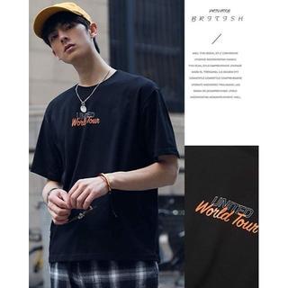 Tシャツ 半袖 速乾 無地 綿100% 黒 XXL(Tシャツ/カットソー(半袖/袖なし))