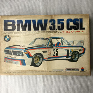 BMW 3.5 CSL 1/16 日東模型 プラスチックモデルキット