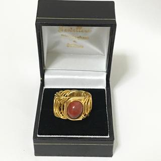 ゴールドリング ピンク系 リング(リング(指輪))