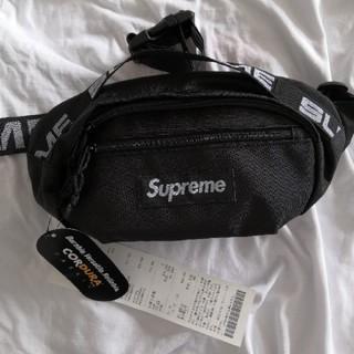 シュプリーム(Supreme)のSupreme 18ss Waist Bag black 新品(ウエストポーチ)