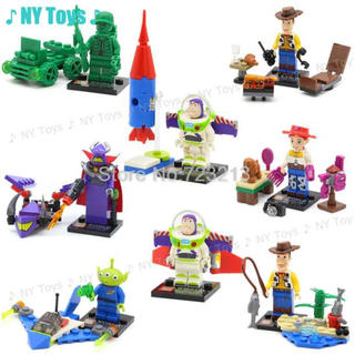 トイストーリー LEGO レゴ 互換 8体セット ディズニー ピクサー
