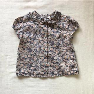 2239a9b3579f1 キャラメルベビー チャイルド(Caramel baby child )のキャラメル CARAMEL リバティブラウス 12M(シャツ