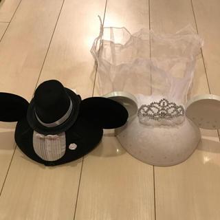 Disney - ウェディングイヤーハット