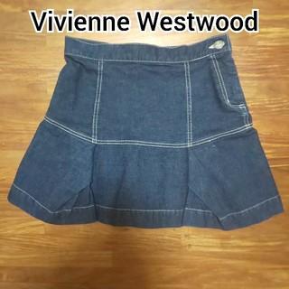 ヴィヴィアンウエストウッド(Vivienne Westwood)のVivienne Westwood デニム ミニスカート(ミニスカート)