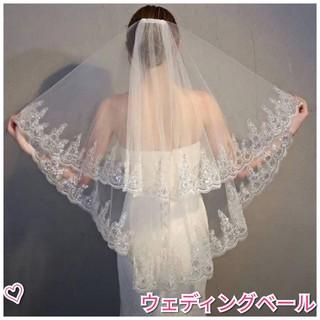 0fe21f8d30a83 ウェディングベール♡ スパンコール ゴージャス かわいい 結婚式(ウェディングドレス)