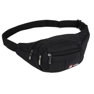 ■ウエストバッグ 大容量 ウエストポーチ 防水 3ポケット 小物入れ(ウエストポーチ)