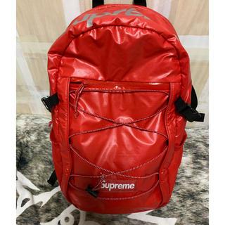 シュプリーム(Supreme)の17AW Supreme Backpack Red シュプリーム  リュック(バッグパック/リュック)
