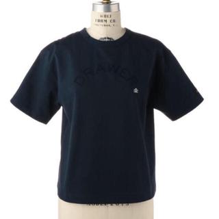 ドゥロワー(Drawer)のDrawer★ドゥロワー ★フロッキープリントプルオーバー★Tシャツ(Tシャツ(半袖/袖なし))