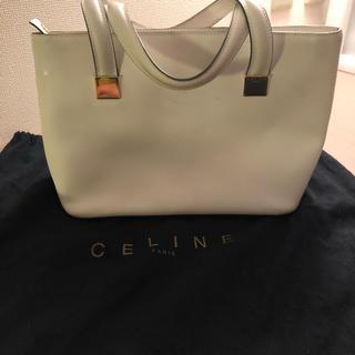 セリーヌ(celine)の《確実正規品》CELINE セリーヌ ハンドバッグ ホワイト レディース(ハンドバッグ)