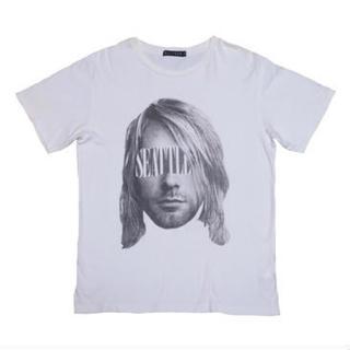 HALFMAN - HALFMAN(ハーフマン) カートコバーンTシャツ