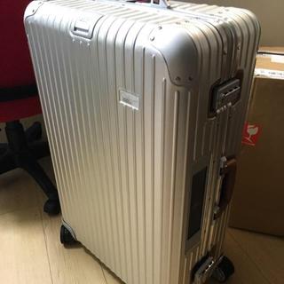 リモワ(RIMOWA)の新品 RIMOWA ルフトハンザ リモワ 747-8 84L 電子タグ XL+(トラベルバッグ/スーツケース)
