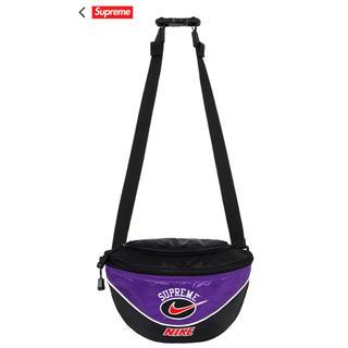 シュプリーム(Supreme)のSUPREME NIKE パープル shoulder bag(ショルダーバッグ)