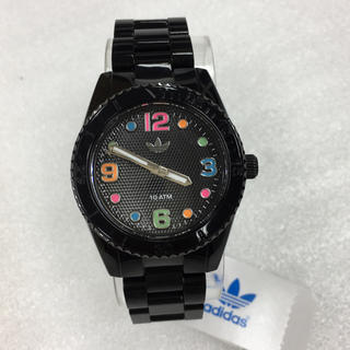アディダス(adidas)の新品 人気 adidas 腕時計 レディース ブラック ADH2943(腕時計)