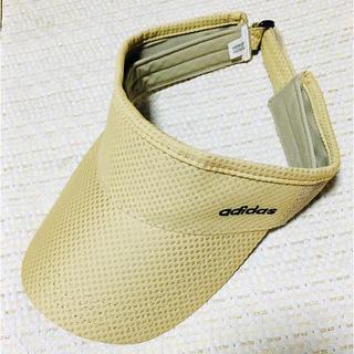 アディダス(adidas)のサンバイザー(サンバイザー)