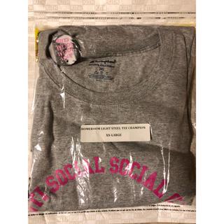 シュプリーム(Supreme)のASSC Homeroom Light Steel Tee Grey XXL(Tシャツ/カットソー(半袖/袖なし))