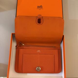 エルメス(Hermes)のHermes ドゴン オレンジ(財布)