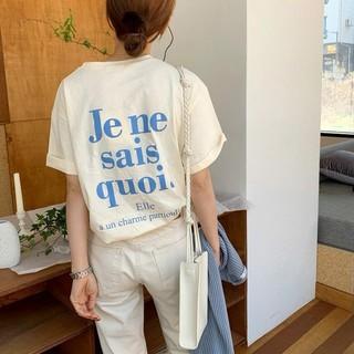 送料無料 ロゴ Tシャツ シャツ レディース  トップス 787(Tシャツ(半袖/袖なし))
