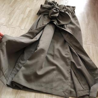 ザラ(ZARA)の巻きスカート 膝丈(ひざ丈スカート)