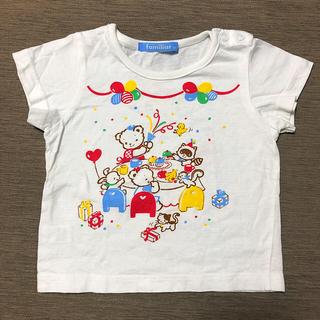 familiar - ファミリア Tシャツ 半袖 女の子 80