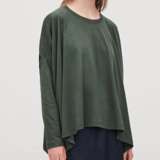 エンフォルド(ENFOLD)のCOS☆ドレープTシャツ☆新品タグ付き☆☆(カットソー(半袖/袖なし))