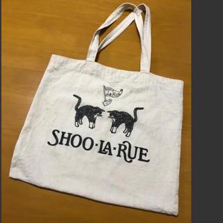 シューラルー(SHOO・LA・RUE)の値下げ!シューラルー トートバッグ エコバッグ ネコ(トートバッグ)