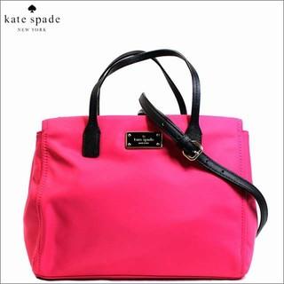 ケイトスペードニューヨーク(kate spade new york)のKATE SPADE ケイトスペード 2WAYバッグ ハンド ショルダー ピンク(ハンドバッグ)