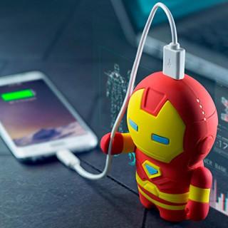 新品! マーベル アイアンマン モバイルバッテリー 充電器 6700mAh