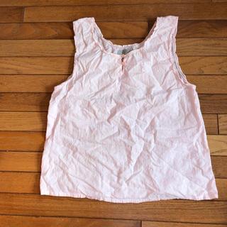 シマムラ(しまむら)のノースリーブシャツ(シャツ/ブラウス(半袖/袖なし))