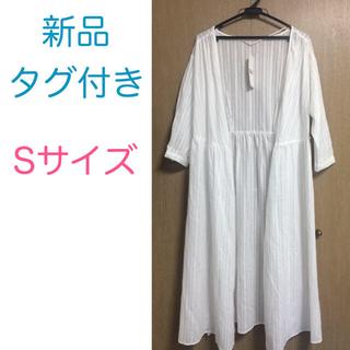 GU - 新品タグ付き☆GU ジーユー カシュクールガウン オフホワイト