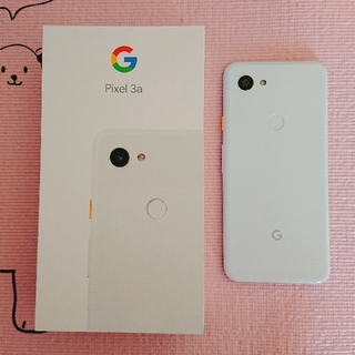 ANDROID - Pixel3a clearly white 本体