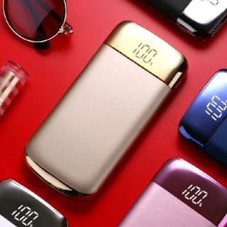 新品未使用 10800mAh 薄型モバイルバッテリー(COLOR ゴールド)