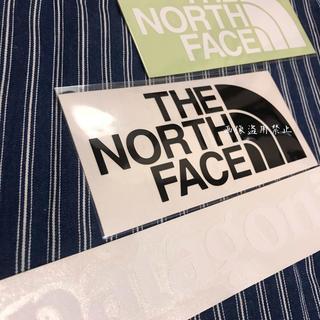ザノースフェイス(THE NORTH FACE)の新品未使用 ノースフェイス&パタゴニア カッティングステッカー 白黒(その他)