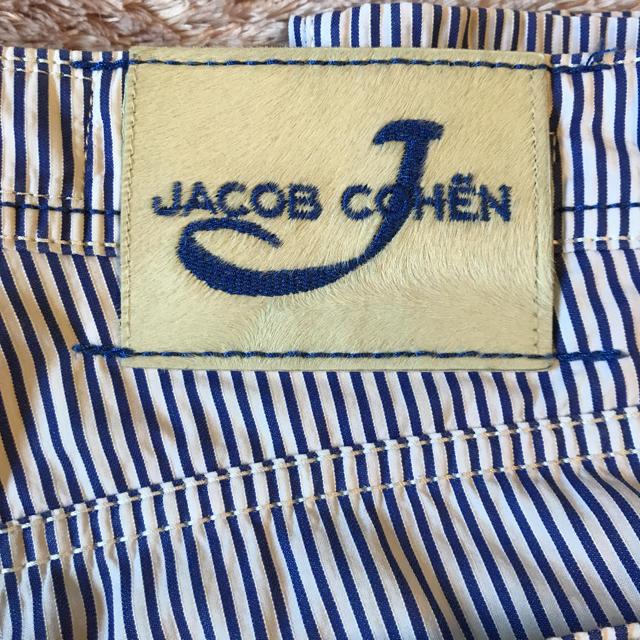 JACOB COHEN(ヤコブコーエン)の美品 ヤコブコーエン JACOB COHEN J688 30インチ ストライプ メンズのパンツ(チノパン)の商品写真