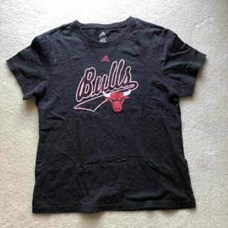 アディダス(adidas)のアディダス シカゴブルズ Tシャツ M ブラック(Tシャツ/カットソー(半袖/袖なし))