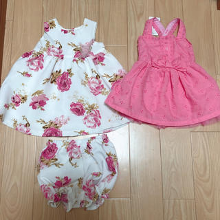ニシマツヤ(西松屋)の新品★セット売り★ベビー服(ワンピース)