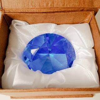 ダイヤモンド ガラスのオブジェ