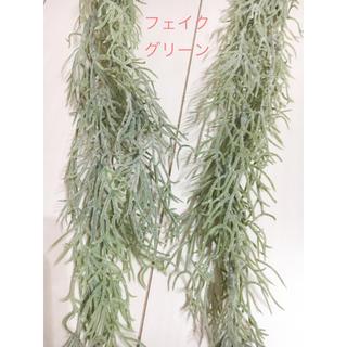 【2本セット】スパニッシュモス フェイクグリーン(その他)