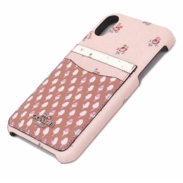 COACH - 【COACH新作】 コーチ iPhoneXR スマホケース 花柄 ピンクの通販 by OREO |コーチならラクマ