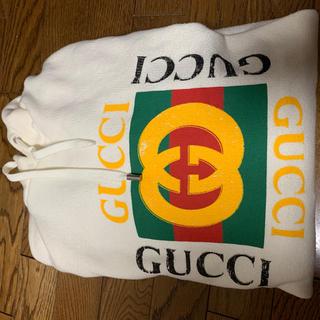 グッチ(Gucci)のGUCCI 白パーカー(パーカー)