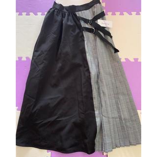 シマムラ(しまむら)のプリーツスカート♥️新品、タグ付き(ロングスカート)