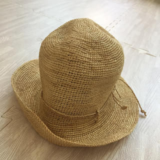 ムジルシリョウヒン(MUJI (無印良品))のラフィアハット 無印良品(麦わら帽子/ストローハット)