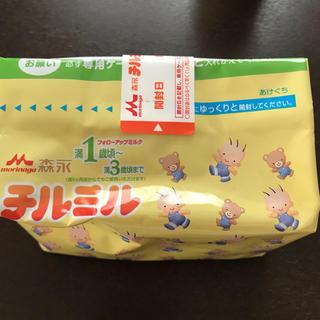 モリナガニュウギョウ(森永乳業)のチルミル エコらくパック 1袋(その他)
