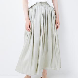 haco! - (新品)haco! 1枚でも重ね着にも便利なキラキラ素材がかわいいロングスカート