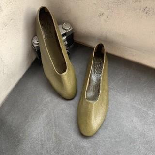 トゥモローランド(TOMORROWLAND)のマルティニアーノフラットパンプス(ローファー/革靴)