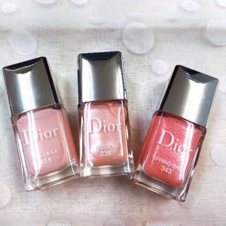 Dior - Dior ヴェルニ🌸 ピンク3色セット🌸