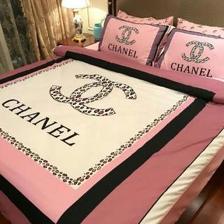 2019春夏新品 シャネル CHANEL ベッドセット 4点セット 寝具 人気